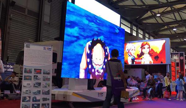 OMDM at Shanghai LED sign show