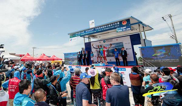 OMDM EC45 at 2015 Qinghai lake cycling tour