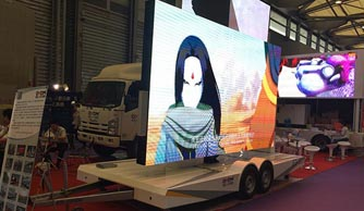 JCT was in 2015 Shanghai LED sign show