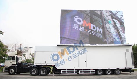 The biggest LED container in China