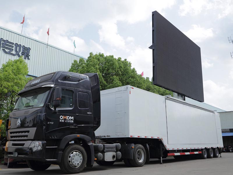 Large Container Stage Truck