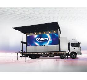 Large Mobile exhibition stage truck