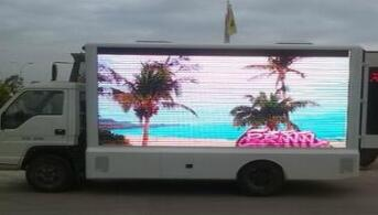 Led advertising truck radiator should pay special attention
