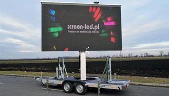 Advertising LED Display Trailer