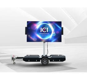 Rotating Mobile LED Trailer