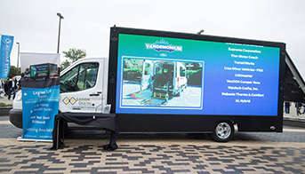 What are mobile LED billboard?