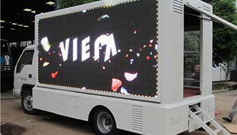 Mobile LED Van Display Screen