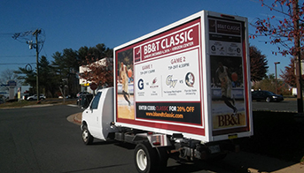 Exclusive Mobile Advertising Truck