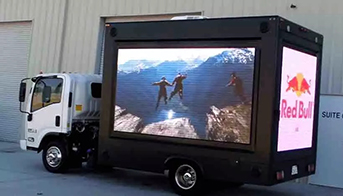 15'X 8' Mobile LED billboard truck