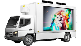 LED Vehicle Display Advertisement