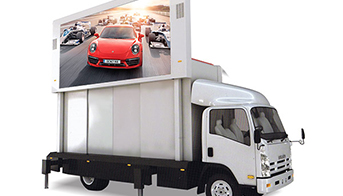 LED screen truck system