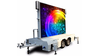 What is mobile led advertising?