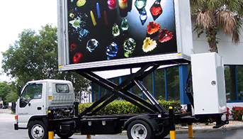 Outdoor Moving Led Vehicle