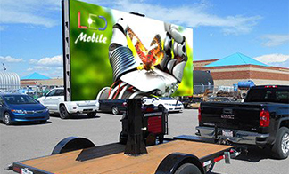 Gain a winning edge with our mobile LED signs