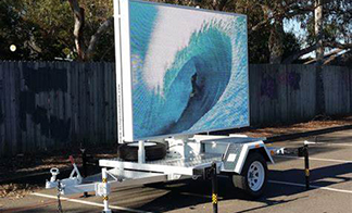 4K High Resolution LED Trailers