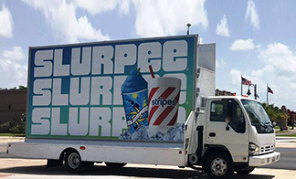 Mobil Advertising Truck Video Display