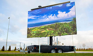 Ready-Made Mobile Exhibition Trailer