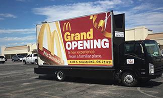 Mobile Digital Advertising Truck