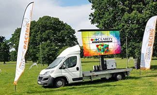 We offer a full range of mobile outdoor screen, rotating and modular screens from compact mobile screens to modular mobile LED screens and everything in between.
