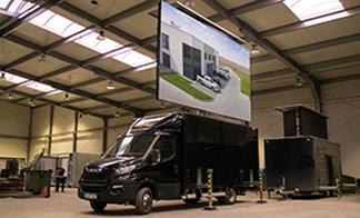 Screen Trucks in 100 Cities