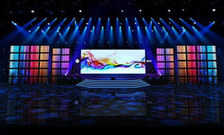 Transparent LED Screen Container, for Indoor Type