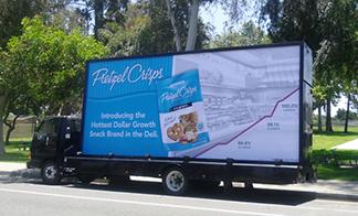 Billboard of Mobile Advertising Truck