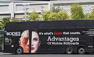 Why mobile billboards grab an audience's attention