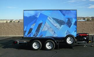 Professional maintenance of good LED trailer method