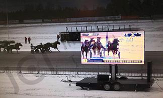 Finland - mobile LED trailer