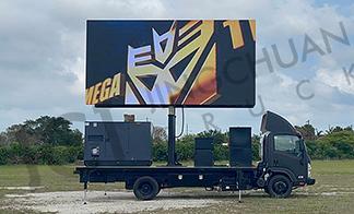 Miami-mobile LED trailer