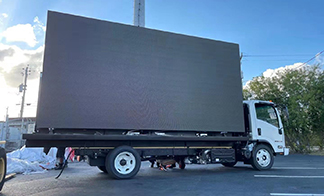 Jingchuan LED trailer is popular in American outdoor advertising market